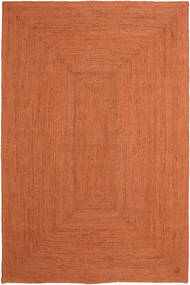 Frida Color - Oranssi Matto 200X300 Moderni Käsinkudottu Oranssi ( Intia)