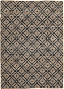 Trisha Rug 160X230 Authentic  Modern Handwoven Light Brown/Dark Grey ( India)