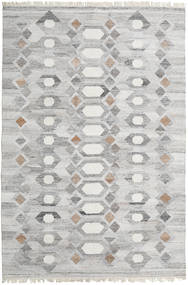 Martha Rug 200X300 Authentic  Modern Handwoven Light Grey/Beige ( India)