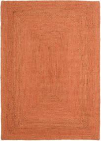 Frida Color - Oransje Teppe 140X200 Ekte Moderne Håndvevd Orange ( India)