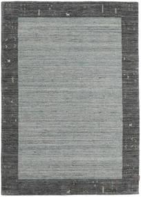 Gabbeh Indisch Teppich  168X236 Echter Moderner Handgeknüpfter Dunkelgrau/Hellgrau (Wolle, Indien)