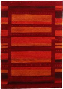 Gabbeh Indo Tapete 169X240 Moderno Feito A Mão Vermelho Escuro/Castanho Alaranjado (Lã, Índia)