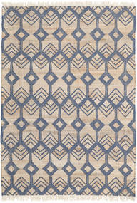 Trinni Rug 140X200 Authentic  Modern Handwoven Light Grey/Beige ( India)
