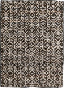 Tilly Rug 140X200 Authentic  Modern Handwoven Dark Grey/Light Grey ( India)