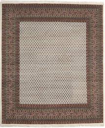 Mir Indo Rug 248X290 Authentic  Oriental Handknotted Light Brown/Dark Grey (Wool, India)