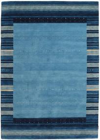 Gabbeh Indo Covor 173X244 Modern Lucrat Manual Albastru/Albastru Închis/Albastru Deschis (Lână, India)