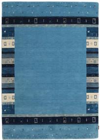 Gabbeh Indo Covor 172X244 Modern Lucrat Manual Albastru/Albastru Închis (Lână, India)