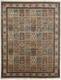 Bakhtiari Indo Rug 252X322 Authentic  Oriental Handknotted Light Brown/Dark Grey/Brown Large (Wool, India)