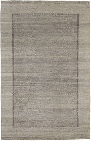 Gabbeh Loribaft Rug 160X251 Authentic Modern Handknotted Light Grey/Dark Grey (Wool, India)