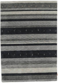 Gabbeh Indo Rug 166X236 Authentic  Modern Handknotted Dark Grey/Light Grey (Wool, India)