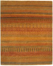 Gabbeh Loribaft Tapis 183X229 Moderne Fait Main Marron/Orange (Laine, Inde)