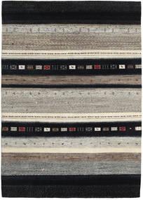 Gabbeh Loribaft Teppe 168X236 Ekte Moderne Håndknyttet Mørk Grå/Lys Grå (Ull, India)