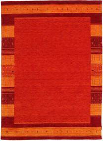 Gabbeh Indo Rug 171X239 Authentic  Modern Handknotted Crimson Red/Orange (Wool, India)