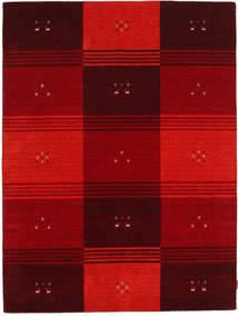 Gabbeh Indiai Szőnyeg 178X235 Modern Csomózású Sötétpiros/Piros (Gyapjú, India)