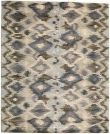 Himalaya Rug 249X306 Authentic  Modern Handknotted Light Grey/Dark Grey (Wool, India)