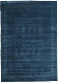 Gabbeh Loribaft Rug 198X283 Authentic  Modern Handknotted Dark Blue (Wool, India)