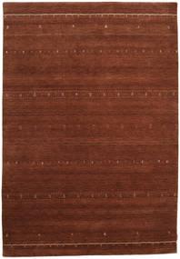 Gabbeh Indisch Teppich  210X301 Echter Moderner Handgeknüpfter Dunkelrot/Dunkelbraun (Wolle, Indien)