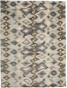Himalaya Matto 297X396 Moderni Käsinsolmittu Vaaleanharmaa/Vaaleanruskea Isot (Villa, Intia)