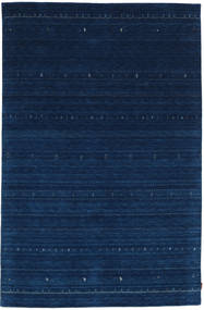 Gabbeh Indo Rug 197X300 Authentic  Modern Handknotted Dark Blue (Wool, India)
