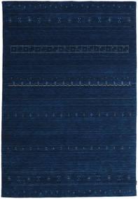 Gabbeh Indické Koberec 202X298 Moderní Ručně Tkaný Tmavě Modrý (Vlna, Indie)