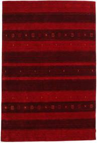 Gabbeh Indisk Matta 206X309 Äkta Modern Handknuten Mörkröd/Mörkbrun (Ull, Indien)