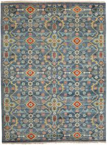 Kazak Nowoczesne Dywan 274X365 Orientalny Tkany Ręcznie Jasnoszary/Ciemnoszary Duży (Wełna, Indie)
