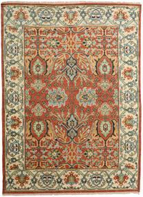 カザック モダン 絨毯 274X374 オリエンタル 手織り 錆色/濃いグレー 大きな (ウール, インド)
