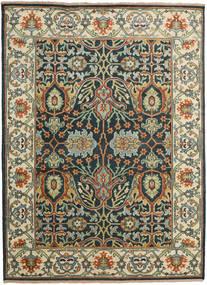 カザック モダン 絨毯 274X374 オリエンタル 手織り 濃いグレー/薄い灰色 大きな (ウール, インド)