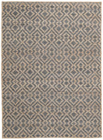 Jute Koberec 160X230 Moderní Ruční Tkaní Světle Hnědá/Tmavošedý ( Indie)