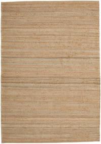 Jute Teppe 160X230 Ekte Moderne Håndvevd Lysbrun ( India)