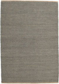 Jute Rug 160X230 Authentic  Modern Handwoven Dark Grey/Light Brown ( India)
