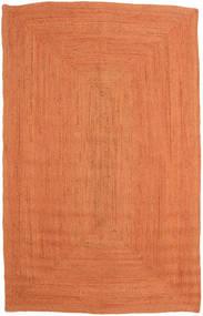 Jute Matto 160X230 Moderni Käsinkudottu Oranssi ( Intia)