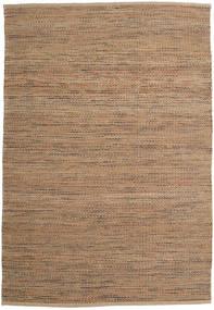 Jute/Ull Teppe 160X230 Ekte Moderne Håndvevd Lysbrun/Brun ( India)