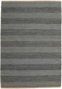 Jute Rug 160X230 Authentic  Modern Handwoven Dark Grey ( India)