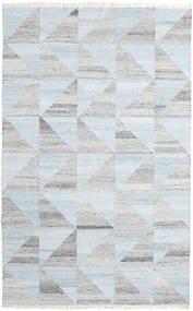 Pet Yarn Chilim Covor 160X230 Modern Lucrate De Mână Gri Deschis/Albastru Deschis/Bej-Crem ( India)