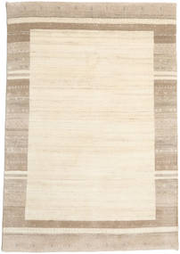 Gabbeh Indo Rug 170X247 Authentic  Modern Handknotted Beige/Light Brown (Wool, India)