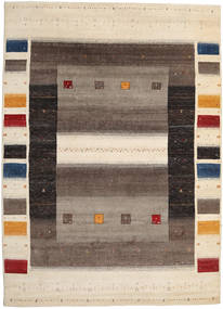 Gabbeh Loribaft Rug 249X344 Authentic  Modern Handknotted Dark Brown/Light Brown/Beige (Wool, India)