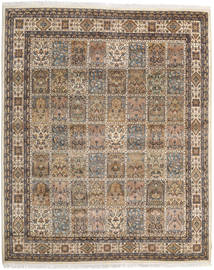 Bakhtiari Indo Rug 242X297 Authentic  Oriental Handknotted Light Brown/Dark Brown (Wool, India)