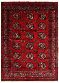 Pakistan Bokhara 3Ply Rug 175X243 Authentic  Oriental Handknotted Dark Red/Crimson Red (Wool, Pakistan)