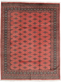 Pakistan Bokhara 2Ply Rug 201X259 Authentic  Oriental Handknotted Rust Red/Dark Red (Wool, Pakistan)