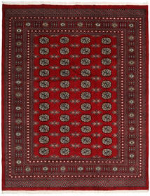 Pakistan Bukara 2Ply Alfombra 202X255 Oriental Hecha A Mano Rojo Oscuro/Roja (Lana, Pakistán)