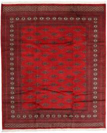 Pakistan Bokhara 2Ply Matta 198X238 Äkta Orientalisk Handknuten Mörkröd/Röd (Ull, Pakistan)