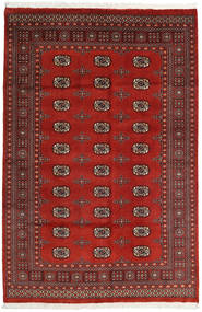 Pakistan Bokhara 2Ply Rug 164X247 Authentic  Oriental Handknotted Rust Red/Dark Red (Wool, Pakistan)
