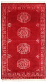 Pakistan Bokhara 3Ply Rug 95X159 Authentic  Oriental Handknotted Crimson Red/Rust Red (Wool, Pakistan)