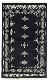 Pakistan Bokhara 3Ply Rug 94X157 Authentic  Oriental Handknotted Dark Grey (Wool, Pakistan)