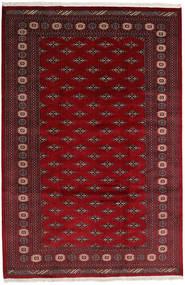 Pakistan Bokhara 2Ply Rug 200X302 Authentic  Oriental Handknotted Dark Red/Dark Brown (Wool, Pakistan)