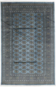 Pakistan Bokhara 2Ply Rug 182X282 Authentic  Oriental Handknotted Dark Grey/Blue (Wool, Pakistan)