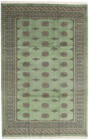 Pakistan Bokhara 2Ply Matto 201X309 Itämainen Käsinsolmittu Vaaleanharmaa/Tummanharmaa (Villa, Pakistan)