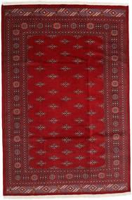 Pakistan Bokhara 2Ply Rug 199X297 Authentic  Oriental Handknotted Dark Red/Crimson Red (Wool, Pakistan)