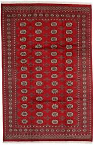 パキスタン ブハラ 2Ply 絨毯 203X310 オリエンタル 手織り 深紅色の/赤 (ウール, パキスタン)